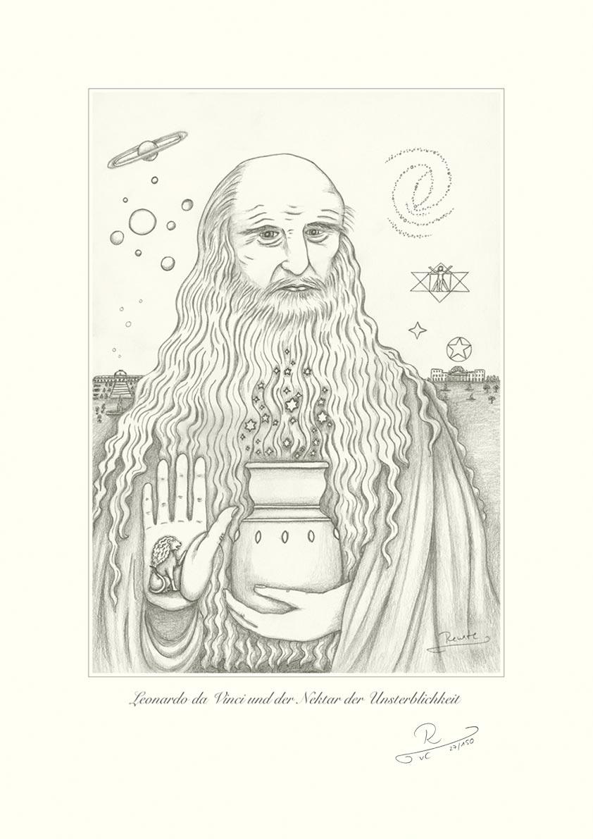 Leonardo da Vinci und der Nektar der Unsterblichkeit